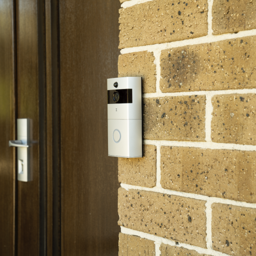 Smart WiFi Doorbell Lifestyle Shot