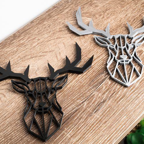 3D Printed Objects Deer Head